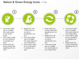 Green Energy Battery Nuclear Plants Energy Conservation Recycling Ppt Icons Graphics