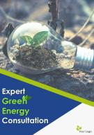 Green Energy Consultancy Company Four Page Brochure Template