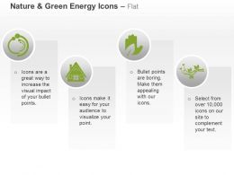 Green Energy House Protection Plants Ppt Icons Graphics