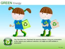 Green Energy Powerpoint Presentation Slides DB