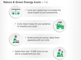 green_fuel_factory_production_nuclear_reactor_ppt_icons_graphics_Slide01