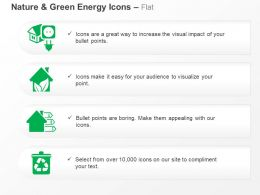 Green House Energy Bio Energy Recycling Ppt Icons Graphics