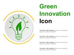 Green Innovation Icon