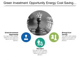 Green Investment Opportunity Energy Cost Saving Green Energy