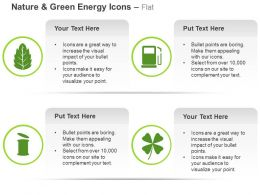 Green Leaf Fuel Bin Eco Friendly System Ppt Icons Graphics