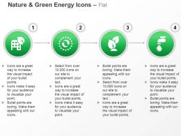 Green Leave Tap Nature Safety Ppt Icons Graphics