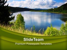 Green Natural Environment Beauty Powerpoint Templates Ppt Themes And Graphics 0213