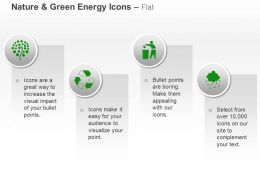 Green Plant Recycle Waste Management Water Harvesting Ppt Icons Graphics