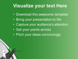 Green Question And Man On Arrow Confused Powerpoint Templates Ppt Themes And Graphics 0113