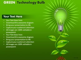 green_technology_bulb_powerpoint_presentation_slides_Slide01