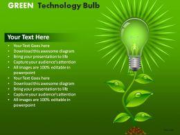 green_technology_bulb_powerpoint_presentation_slides_Slide01