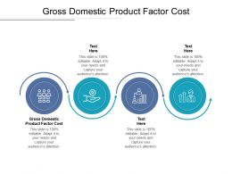 Gross Domestic Product Factor Cost Ppt Powerpoint Presentation Infographics File Formats Cpb