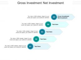 Gross Investment Net Investment Ppt Powerpoint Presentation Ideas Objects Cpb