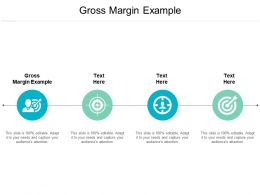 Gross Margin Example Ppt Powerpoint Presentation Inspiration Example Introduction Cpb