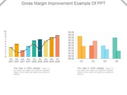 Gross Margin Improvement Example Of Ppt