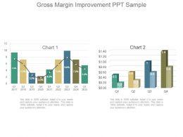 Gross Margin Improvement Ppt Sample