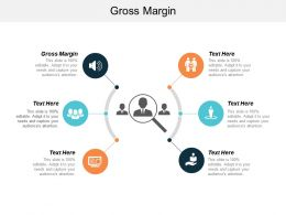 Gross Margin Ppt Powerpoint Presentation File Graphics Pictures Cpb