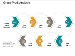 Gross Profit Analysis Ppt Powerpoint Presentation Icon Ideas Cpb