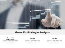 Gross Profit Margin Analysis Ppt Powerpoint Presentation Portfolio Skills Cpb