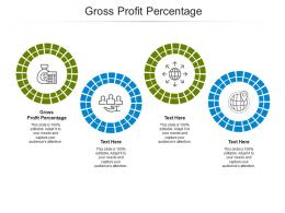 Gross Profit Percentage Ppt Powerpoint Presentation Icon Rules Cpb