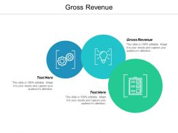 Gross Revenue Ppt Powerpoint Presentation Icon Ideas Cpb