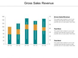 Gross Sales Revenue Ppt Powerpoint Presentation File Introduction Cpb