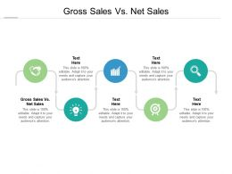 Gross Sales Vs Net Sales Ppt Powerpoint Presentation File Outline Cpb