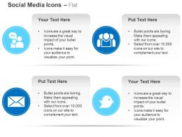 Group Chat Mail Tweet Social Group Ppt Icons Graphics
