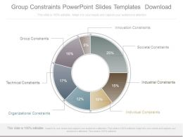 Group Constraints Powerpoint Slides Templates Download