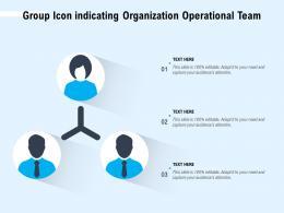 Group Icon Indicating Organization Operational Team