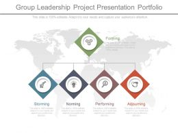 Group Leadership Project Presentation Portfolio