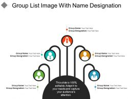Group List Image With Name Designation