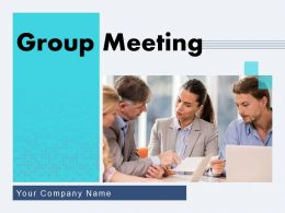 Group Meeting Business Conference Agenda Description Progress