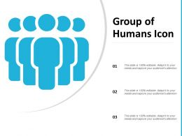 Group Of Humans Icon