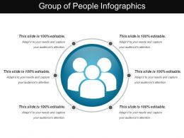 Group Of People Infographics
