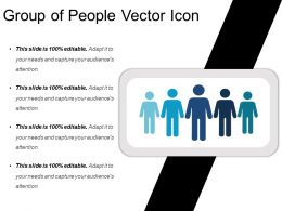 Group Of People Vector Icon