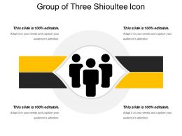 Group Of Three Shioultee Icon