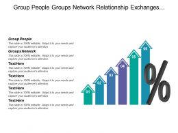 Group People Groups Network Relationship Exchanges Common Goal