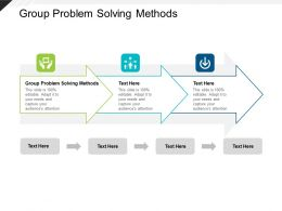 Group Problem Solving Methods Ppt Powerpoint Presentation File Show Cpb