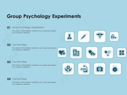 Group Psychology Experiments Ppt Powerpoint Presentation Outline Design Templates