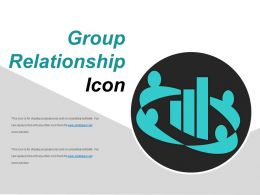 Group Relationship Icon Sample Of Ppt Presentation