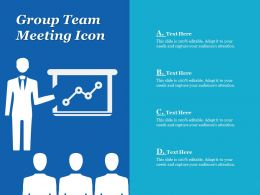 Group Team Meeting Icon