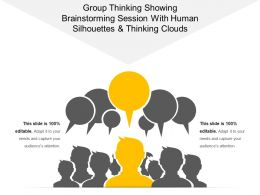 group_thinking_showing_brainstorming_session_with_human_silhouettes_and_thinking_clouds_Slide01