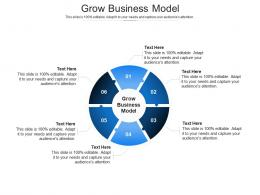 Grow Business Model Ppt Powerpoint Presentation Inspiration Example File Cpb