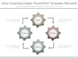 Grow Coaching Design Powerpoint Templates Microsoft