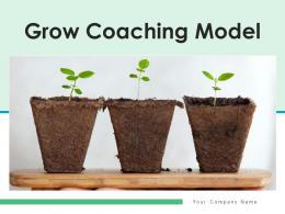 Grow Coaching Model Business Advancement Growth Improvement Achievement
