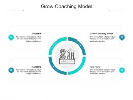 Grow Coaching Model Ppt Powerpoint Presentation Icon Clipart Cpb