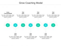 Grow Coaching Model Ppt Powerpoint Presentation Show Graphic Tips Cpb