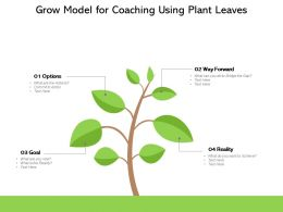 Grow Model For Coaching Using Plant Leaves