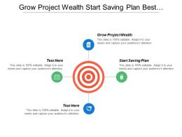 Grow Project Wealth Start Saving Plan Best Processes